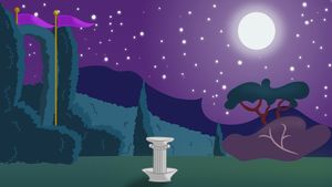 MLP Animation Project-BG Night scene by EROCKERTORRES