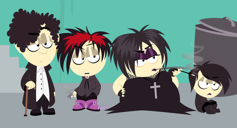 Goth Kids by Pooshpin