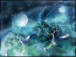 My fractal world by vulcania