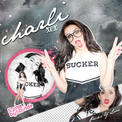 Png pack #51 Charli Xcx by blondeDS