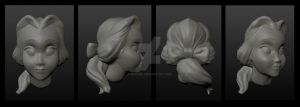 Belle Head Practice Sculpt by nenuiel