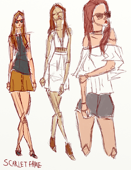 Sketches [Sep.15.16] by scarletfame