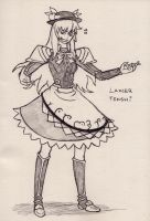 Lancer Tenshi Hinanawi by Tres-Iques