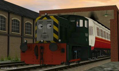 VRM Shunter - 'Caden' by ThomasandTUGSFan