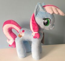 Sweetie Blue Plushie by Pinkamoone