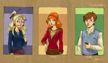 HP Characters_Serie 4 by mary-dreams