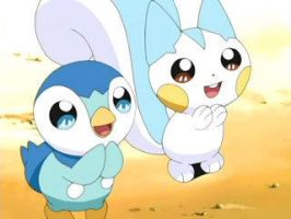 Pachirisu and Piplup