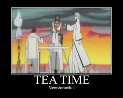 Aizen's Tea Time by Sprky2008