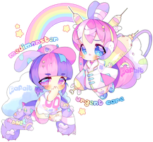 [CLOSED] RAINBOW PILL - SPACEPUFFS by Pafait