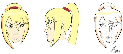 Samus Face by negativesanchez98