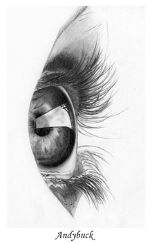 Eye - Sketch Pad Work by AndyBuck
