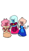 Trio Sapphires clothes swap by SfCabanas15