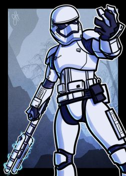 2 of 9 - TR-8R by JoeHoganArt