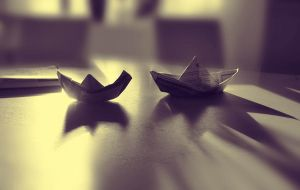 Paperboats by Ivoryia