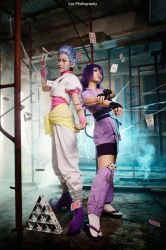 Hunter x Hunter - Hisoka n Machi by vaxzone