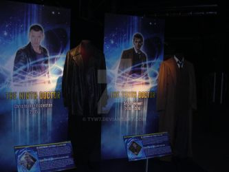 The outfits worn by the 9th and 10th Doctor by tyw7
