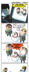 ST - Snowball fight by simengt