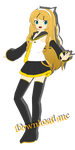[MMD] F-style rin [DL] by ginconomp