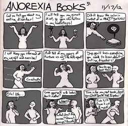 Cracks of Sunshine: Anorexia Books by LB-Lee