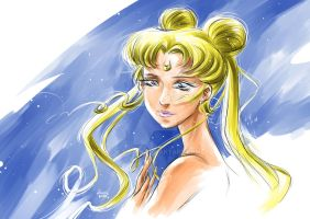 Princess Serenity by k-e-i-t-h