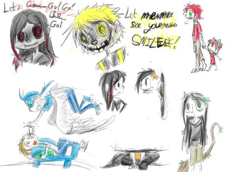 Alton Six Sketches by MephilesTheCute09