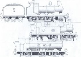 TTTE #3: James and the Great Western Engines by Blue-J-Art