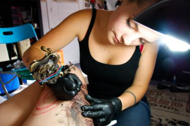 Me tattoing by Envy-style