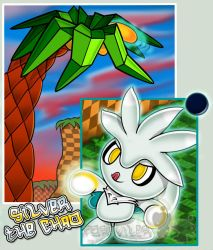 Silver the chao by Forusu