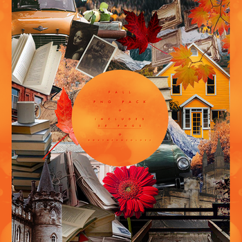 Fall PNG pack #25 by RoxyNeonColors