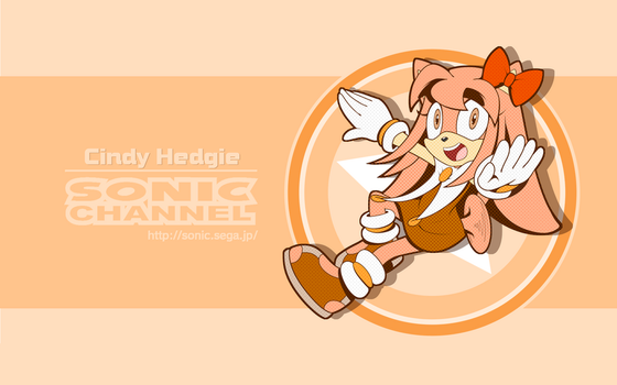 Cindy Hedgie Sonic Channel 2018 Style by HeroineMarielys