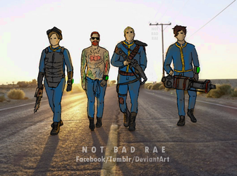 Fallout Boys by notbadrae