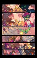Beast Boy Holiday page Two by Jonboy007007