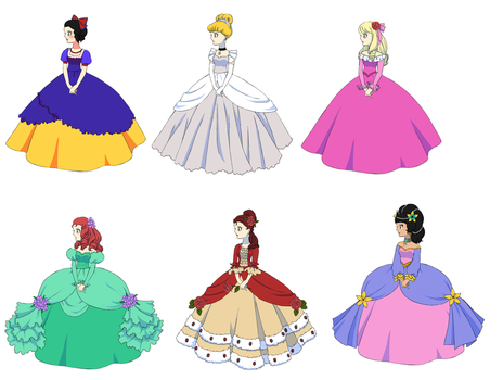 Rose of Versailles Disney 1 by UberxMoMo