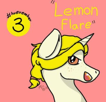 #huevember Day 3: Lemon Flare by Rabies-the-Squirrel
