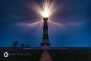 Foggy Night | Outer Banks by JasonKoons