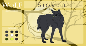 WoLF - Siovan (application form!) by Lavendonts