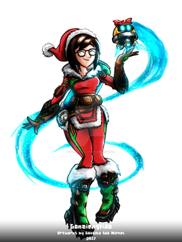 MEI RRY XMAS - OW by gonziengfiao