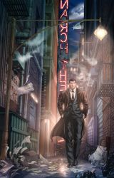 Bruce Wayne in Crime Alley by cehnot