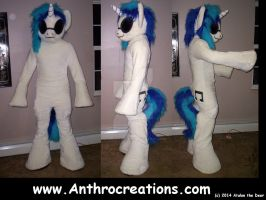 Vinyl Scratch  Pic ML Pony Horse View by AtalontheDeer