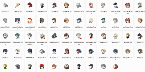 Persona 3 and 4 Windows Icons by oathkeeper9918