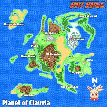 Clauvia World Map by Robaato