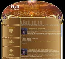 FlyffSite Layout by valilia