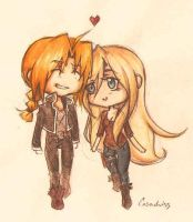 Fullmetal and Thundering by Casadriss