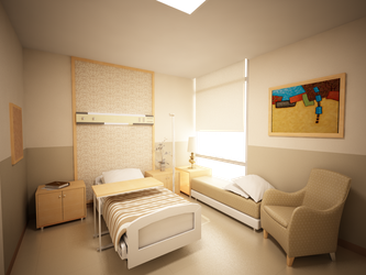 Patient's Room by islawpalitaw