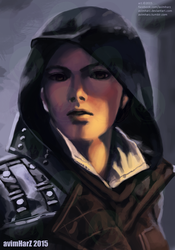 Fanart: Evie Frye from Assassin's Creed Syndicate by avimHarZ