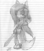 Sasha TheFox, Electric World (AT) by 8AishaTheFenec8