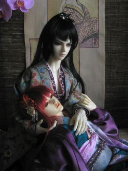 Amorous Tales from Edo Japan, Together by InarisansCrafts