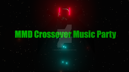 MMD Crossover Music Party - Teaser poster