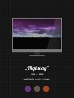 Highway [wallpaper] by fkyhdino