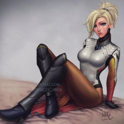 Mercy - Overwatch (NSFW avaiable) by Sciamano240